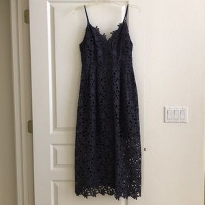 NWOT ASTR Dark Gray Dress